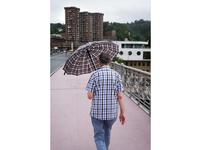 Bilbao Bridge by street photographer Nick Turpin