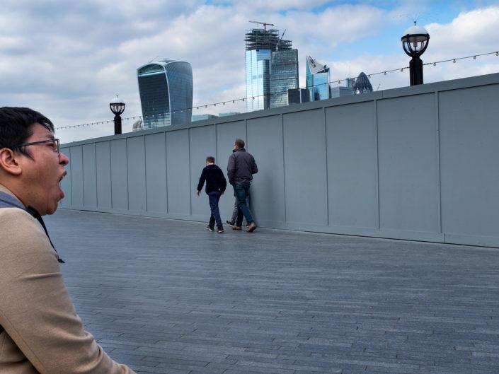 Street Photograph, More London, London. ©Nick Turpin