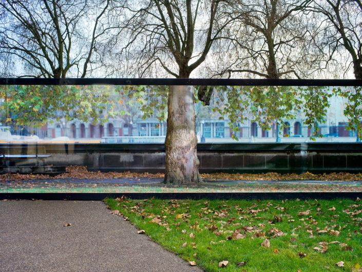 Street Scene, Westminster London by Nick Turpin.