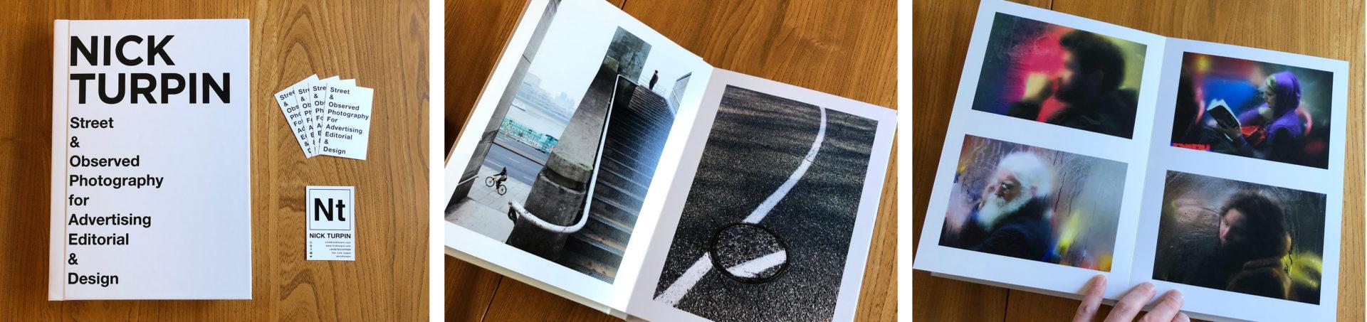 A one off A4 printed portfolio.