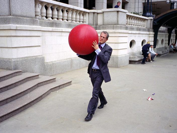 London City Street Photograph by Street Photographer Nick Turpin