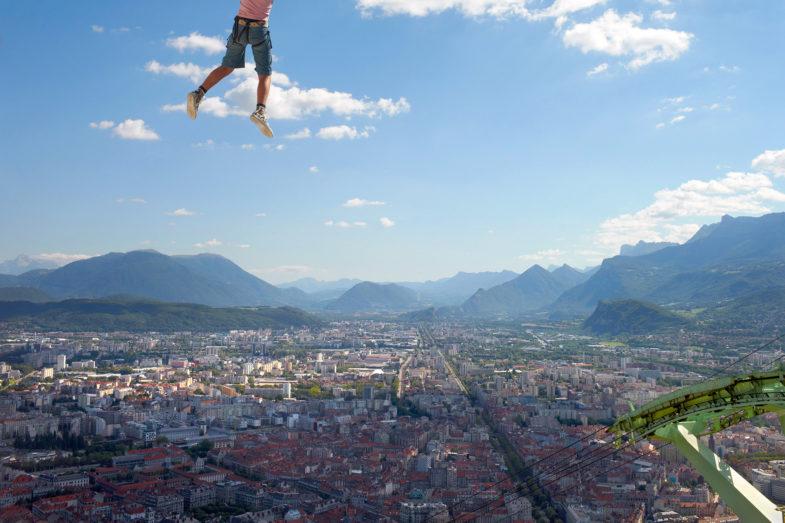 Street Photograph, Grenoble, France. Pic: Nick Turpin