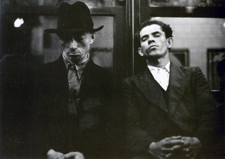 Walker Evans Subway Photograph 1938