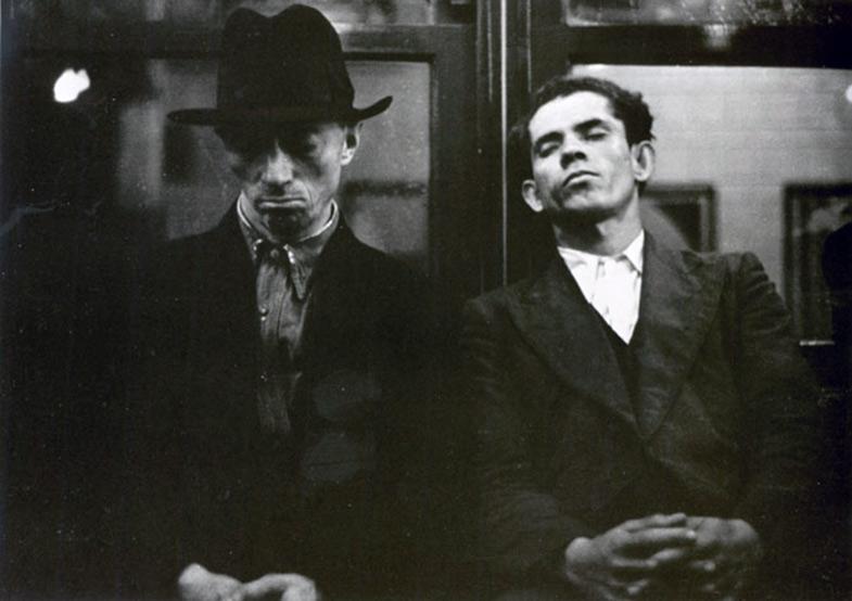 Walker Evans Subway Photograph 1938