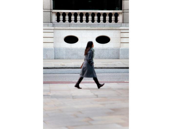 Street Scene, Bishopsgate, London by Nick Turpin.