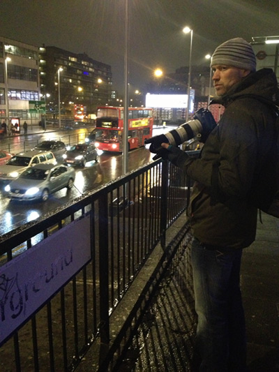 Nick Turpin Shooting 'Through a Glass Darkly'