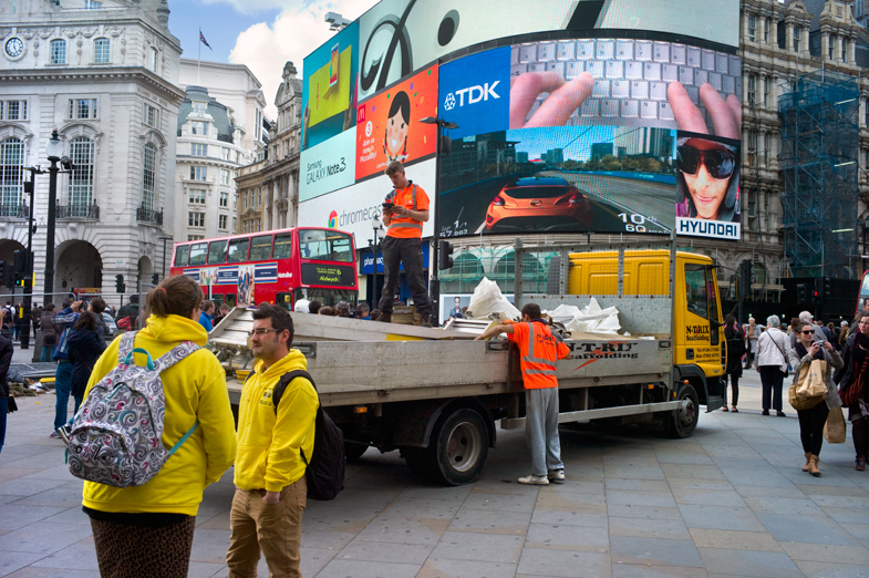 Street Scene, Piccadilly, London from 'Like Piccadilly Circus'
