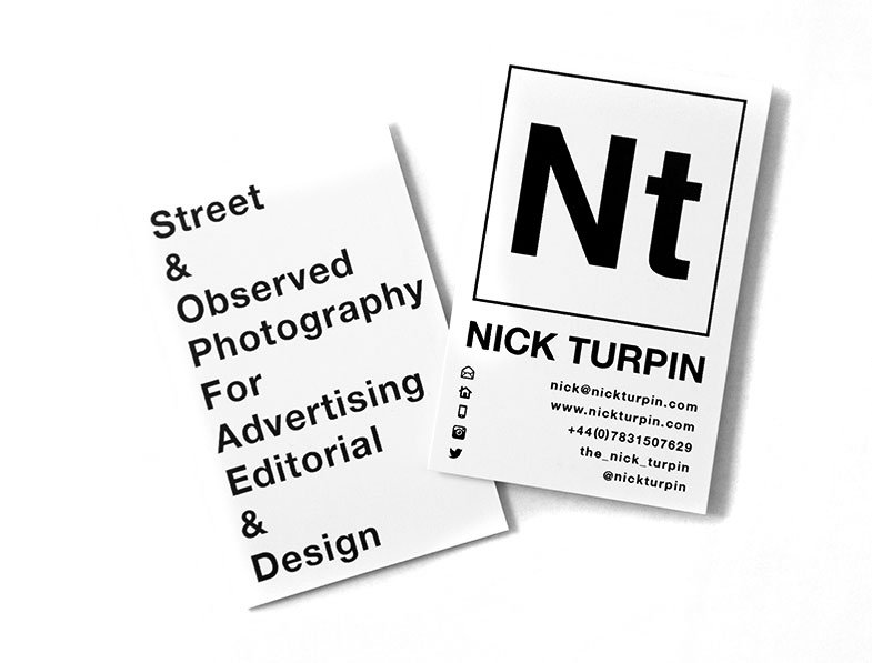 Nick Turpin business card contacts